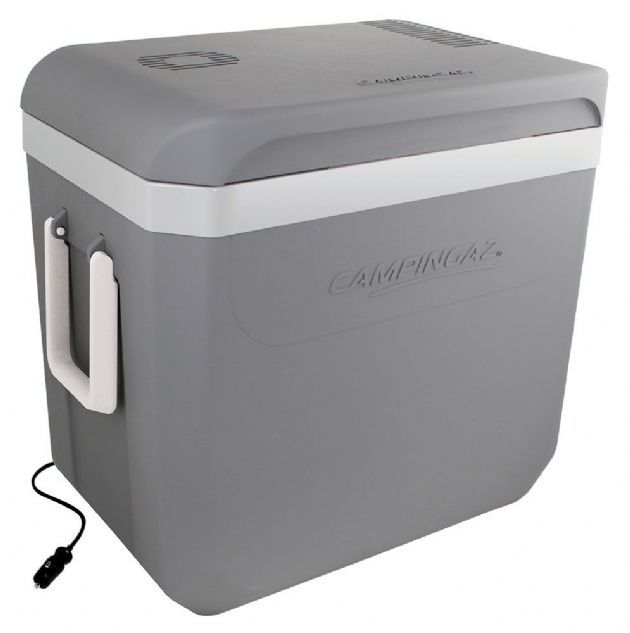 Campingaz Powerbox Plus 36L 12V Coolbox Cooler, Camping & Fishing Coolbox - Grasshopper Leisure,